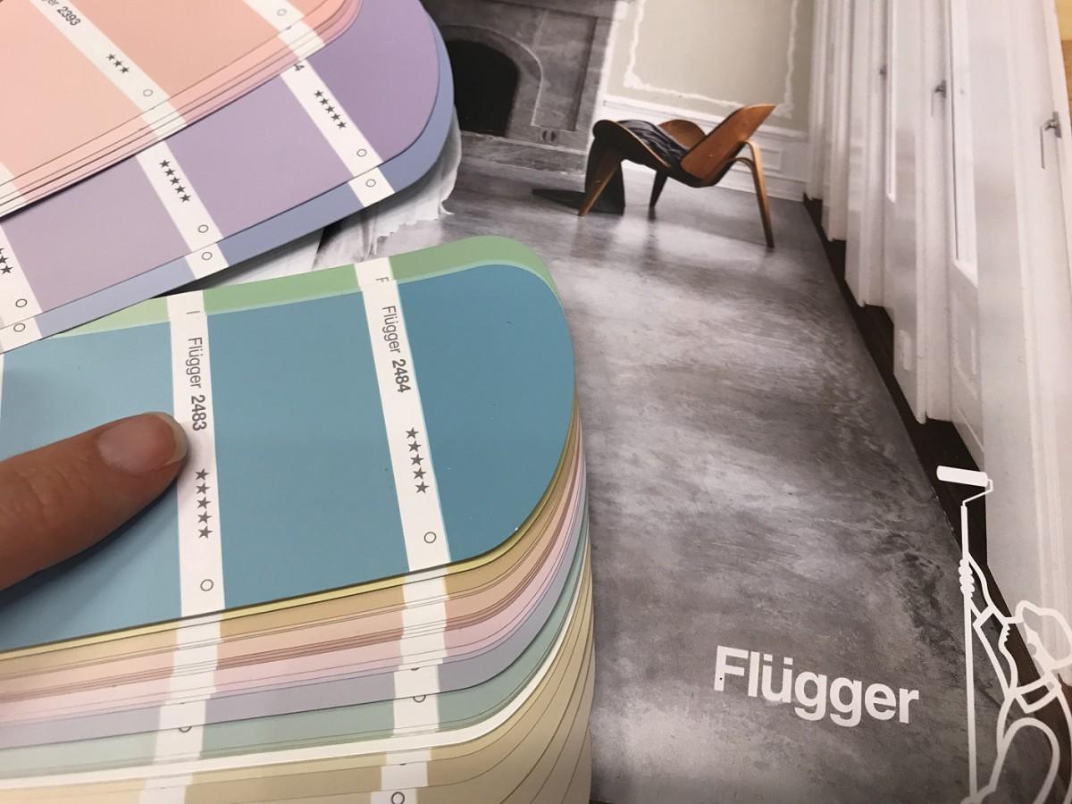 Выбор цвета Flugger