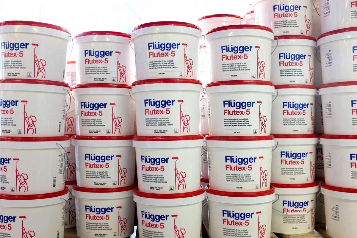 акриловая краска для стен Flugger