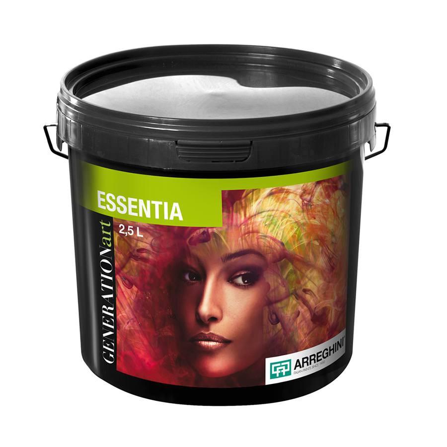 ESSENTIA SILVER Декоративная краска с эффектом бархата