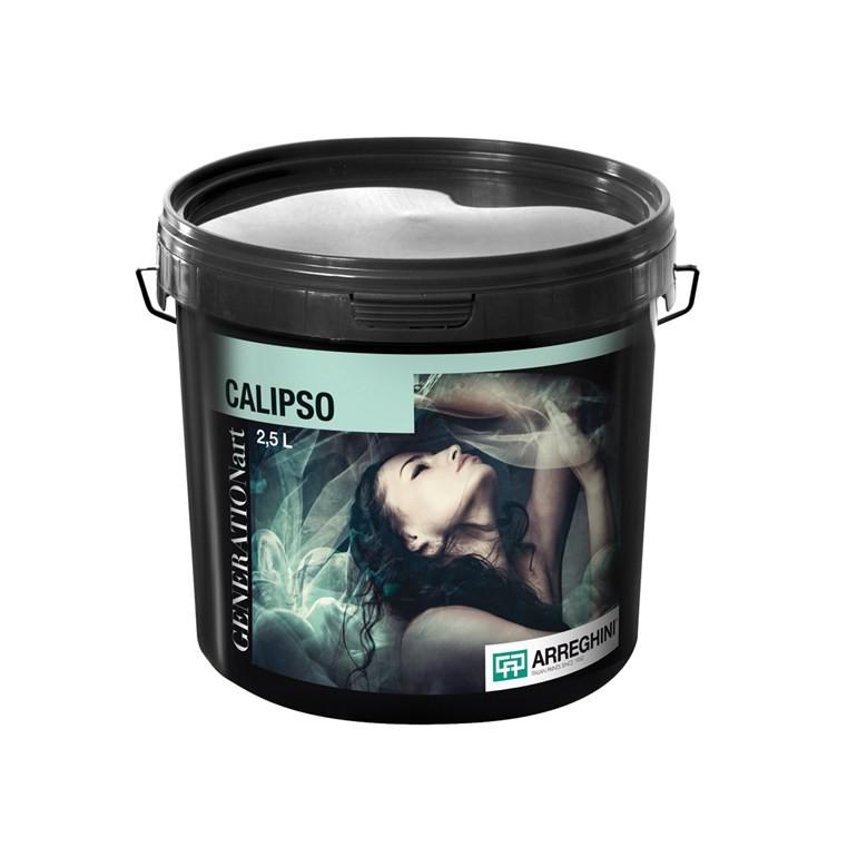 CALIPSO SILVER Декоративная краска с цветным стеклярусом