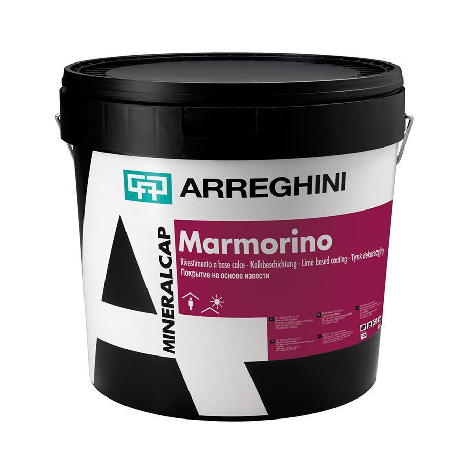 MARMORINO Декоративное покрытие для внутренних и наружных работ на основе извести с мелкозернистой фракцией