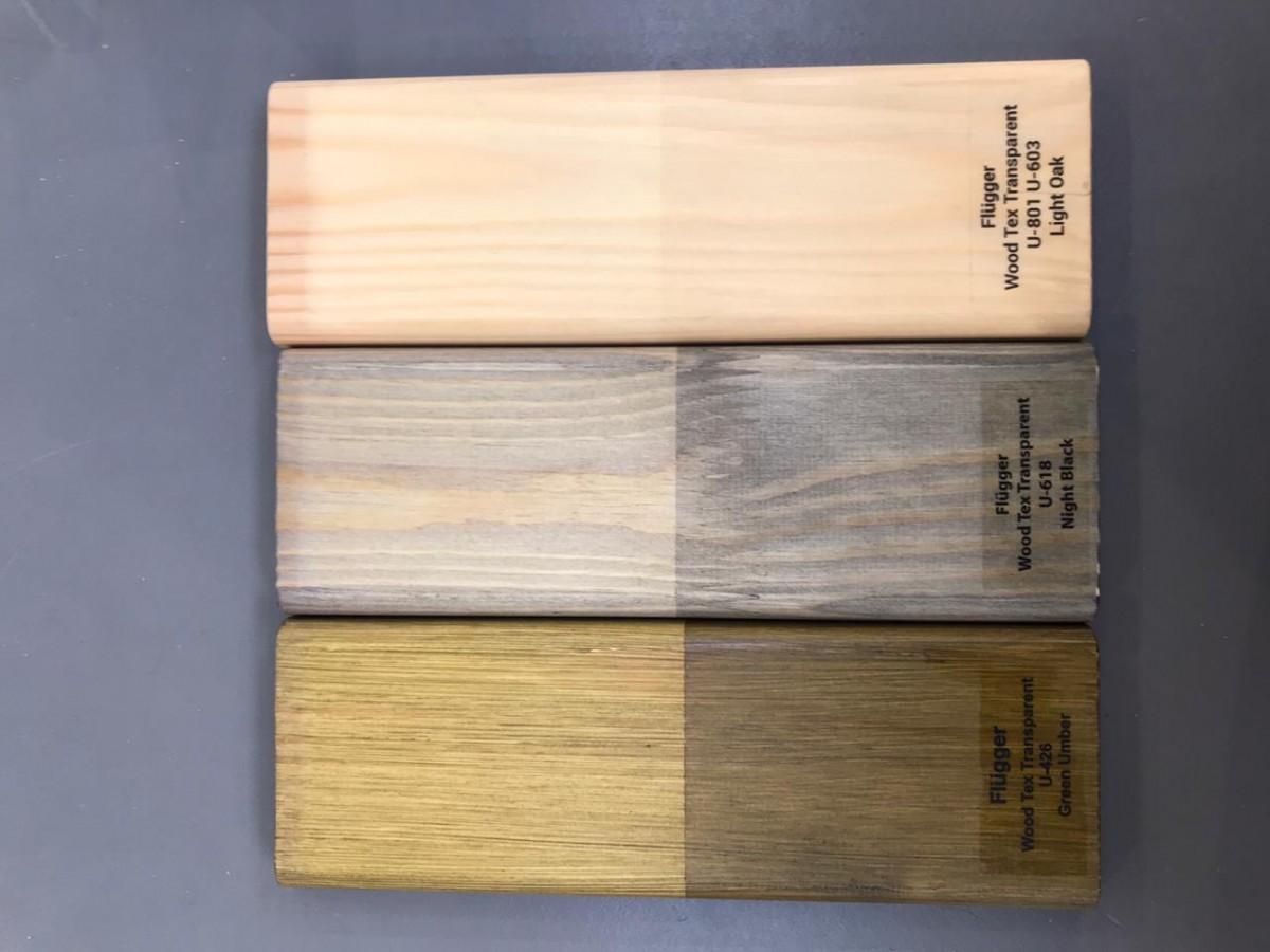 Цвета для Flugger wood tex transparent