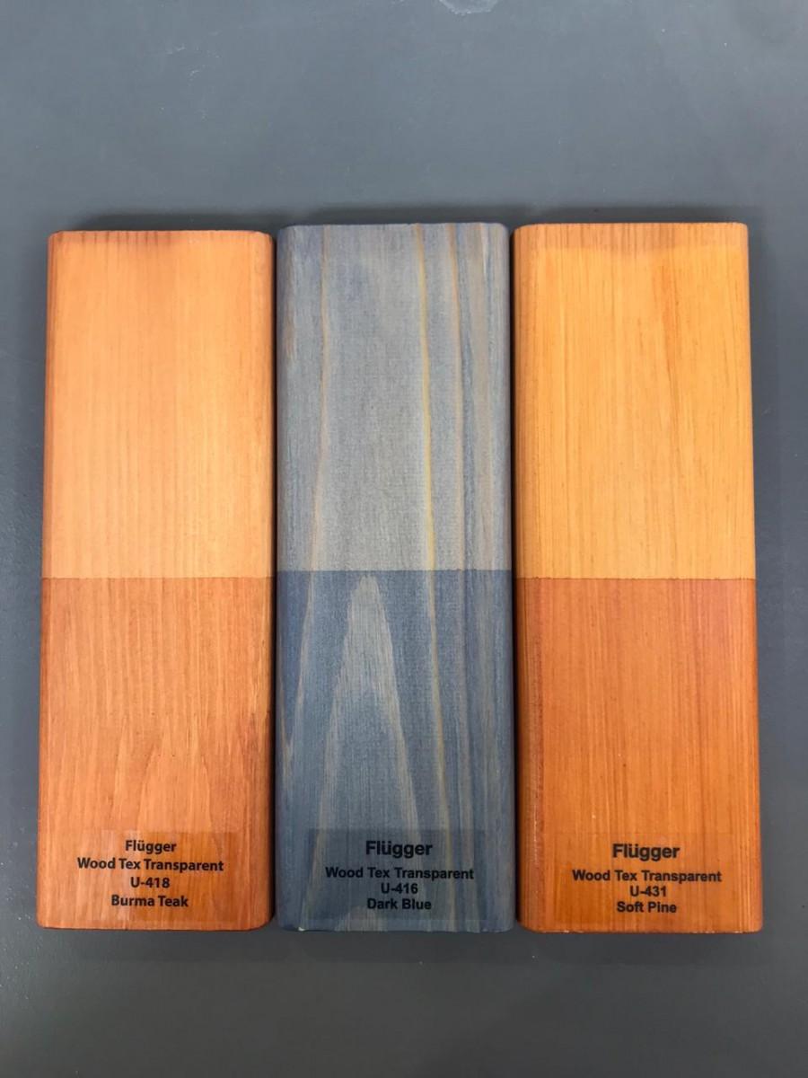 Flugger Wood Tex лессирующие цвета пропитки