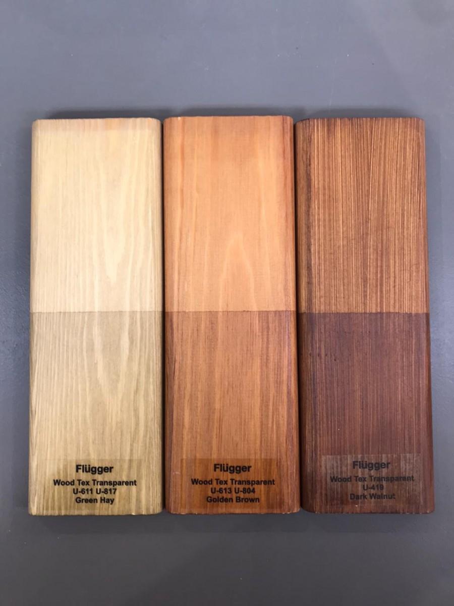 цвета прозрачной пропитки от влаги для деревянных фасадов
