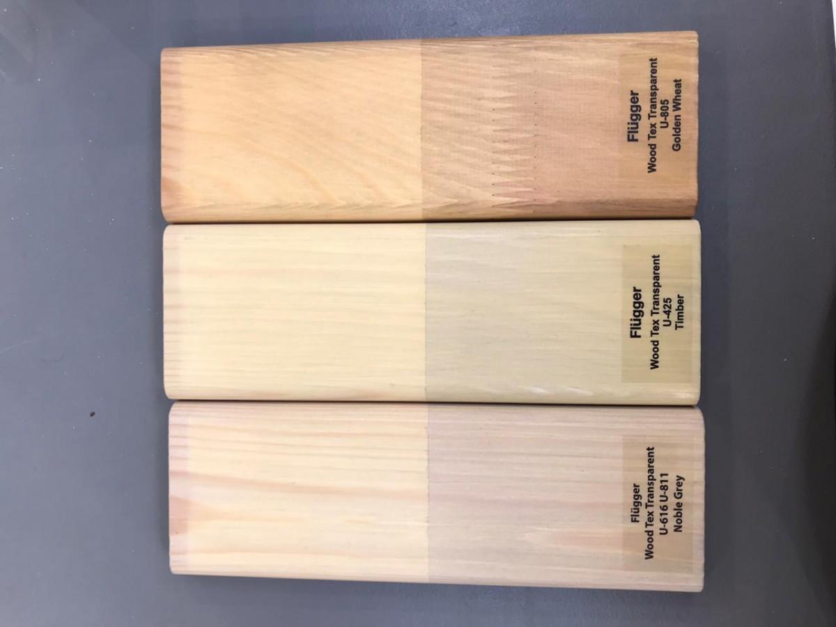 прозрачная пропитка для деревянных фасадов цвета