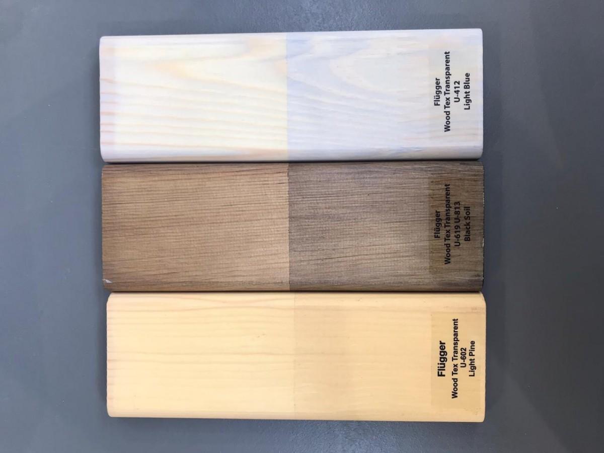 защита дерева от плесени и грибка Flugger wood tex transparent