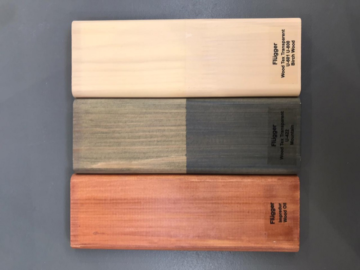 Палитра для Flugger wood tex transparent