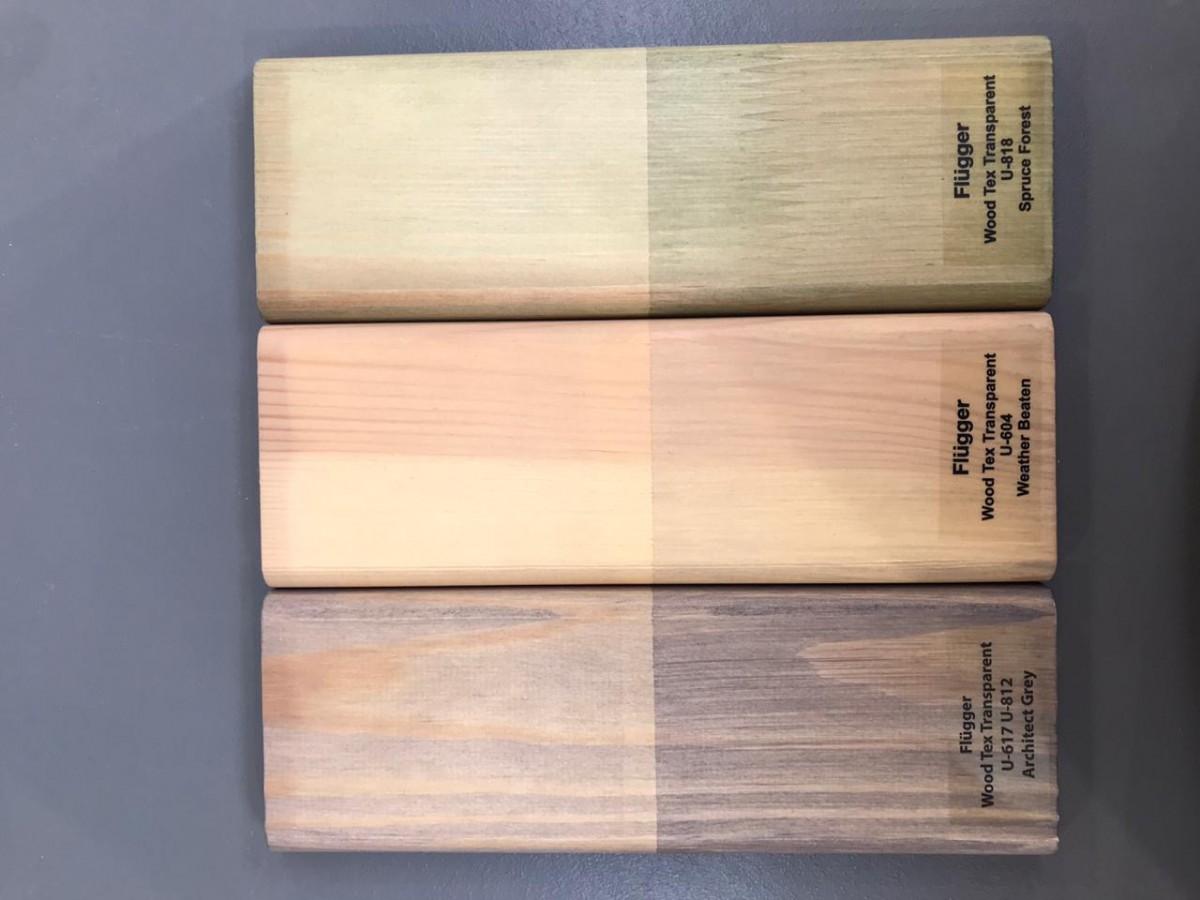 Flugger wood tex transparent - цвета