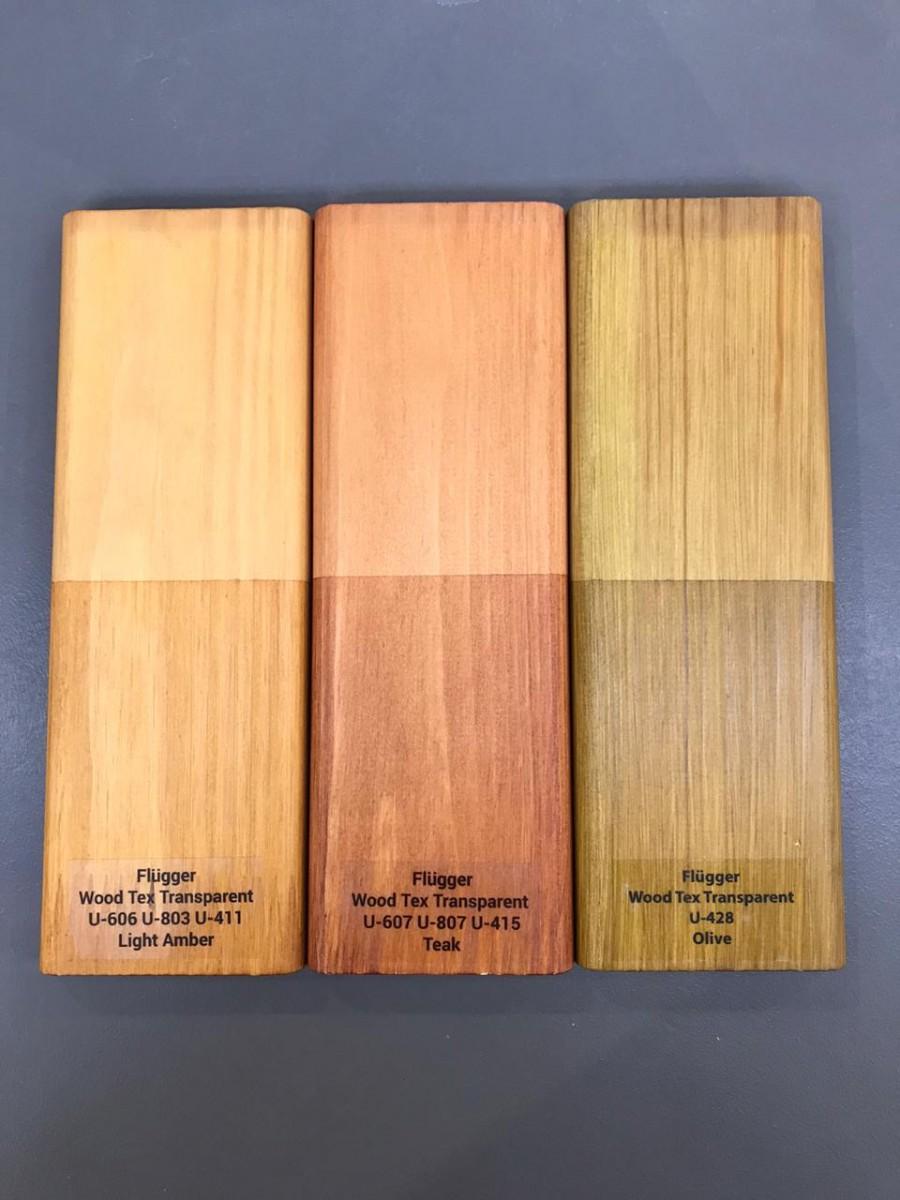 цвета пропитки для дерева Flugger wood tex transparent