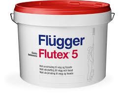 Акриловая краска для стен и потолка Flugger Flutex 5