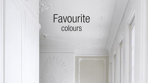 краски Flugger интерьерные цвета favourite